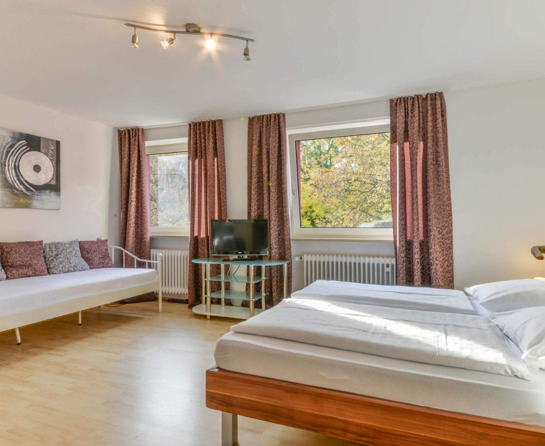 Hotel Augustenfelder Hof Dachau Apartement 4-Bett