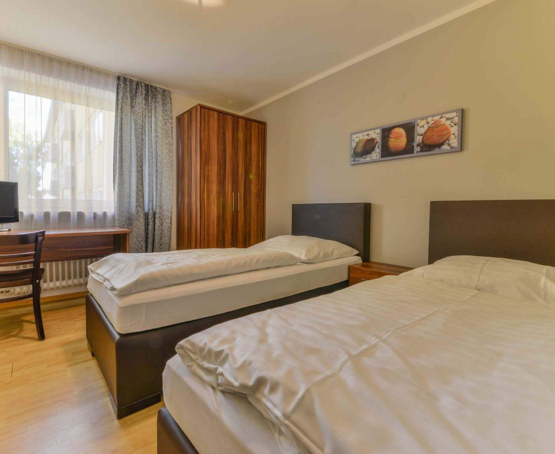 Hotel Augustenfelder Hof Dachau Twin-Bed-Zimmer